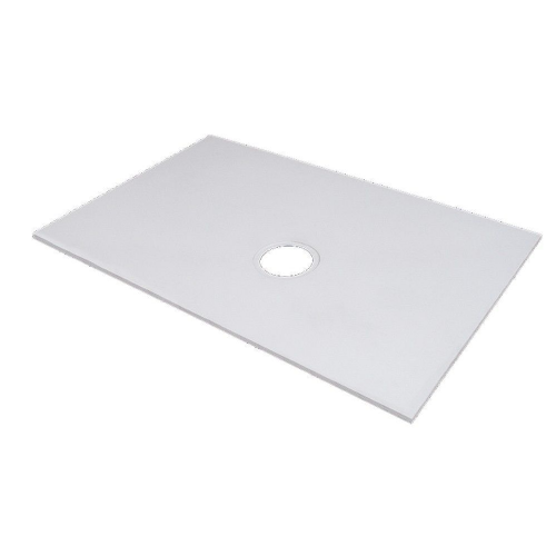Marmox Showerstone Pro 1000mm x 1000mm Wetroom Shower Base (Offset Drain)